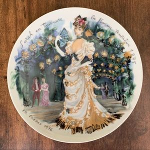 Porcelain de Limoges France. Plate # Ea980